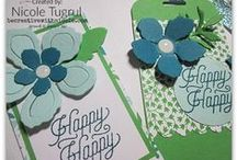 Luv 2 Stamp Group Alternative Paper Pumpkin Ideas / Create Cards, Gift Bags, Banners, Boxes, Treats, and other craft projects with your monthly Paper Pumpkin Kit from Stampin' Up!  Need alternate ideas for your kit? Find them here on our Luv 2 Stamp group Pinterest board!