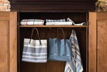 Amana Tote Collection / Amana totes are durable, sustainable and stylish. An interior slit pocket and full grain leather handles are reinforced to withstand wear as you carry it from work through life's adventures. Crafted in Amana, Iowa.