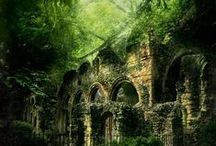 Moldering... / In abandoned and crumbling places there is a beauty unparalleled...