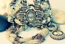 Jewelry / Stylish Jewelry, Unique Jewelry, Inspiring Jewelry, Hand made jewelry, designer jewelry, #bead weaving #beaded jewelry #hand made jewelry #fashion jewelry / by Ezartesa