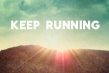{ The art of running }