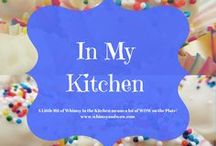 In my Kitchen / All kinds of food comes out of my kitchen: Southern specialties, comfort foods, gourmet fare, homemade EVERYTHING, mouthwatering desserts and a darn good steak!