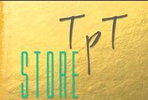 t p t  S T O R E / Board displaying items in my TeachersPayTeachers Store.   http://www.teacherspayteachers.com/Store/Charlotte-Hollinger