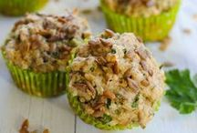 savory breads & muffins / Recipes for savory bread and savory muffins.