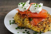 savory breakfast / Savory breakfast recipes including eggs, eggs benedict, potatoes, hashes, sandwiches and breakfast burritos.