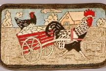 Rug Hooking (#2 of 2 boards) / by Lin Car