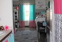2015 College Dorm Room Bedding & Decor / Ideas for creating a beautiful living space at college college dorm room decorating dorm room decor ideas dorm room bedding for college girls www.decor-2-ur-door.com / by Decor 2 Ur Door Bedding
