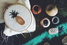 Art - Textiles / by Jenn Thompson, Merrily Yours
