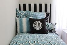 Alpha Delta Pi Sorority / Alpha Delta Pi Decor -- Alpha Delta Pi Sorority Room and Dorm Room Headboard-- Alpha Delta Pi Monogram -- Alpha Delta Pi Sorority -- Alpha Delta Pi Gifts -- Choose your fabric and monogram. Custom dorm and sorority decor. Decor 2 Ur Door.  / by Decor 2 Ur Door Bedding