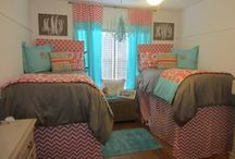 Dorm Extra Long Bed skirts / Custom bed skirts in extended lengths or drop are trending.Pick your fabric, provide your specs and voila we'll ship them to your home or dorm.Perfect for beds on risers and hiding things under your bed...stylishly! / by Decor 2 Ur Door Bedding