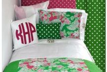 2016 Dorm Room Decorating Inspiration / Dorm room décor and dorm decorating featuring trendy dorm bedding and custom décor and monograms . Get inspired to make your dorm room uniquely yours!  / by Decor 2 Ur Door Bedding