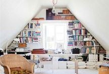 HDH: Library / Home libraries and reading nooks