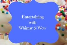 Entertaining with Whimsy and WOW / THE place to show off your best recipes, most secret cooking skills, beautiful creative tablescapes, fancy aprons, perfect hostess tips, bring your kitchen hacks and trade a few with others. PLEASE limit your pins here to the relevant topics of the board description.