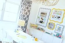 Home: Home Offices / Craft Rooms / by How Does She