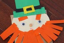 St.Patrick's Day / Everything St.Patrick's Day - crafts, recipes and activities for kids of all ages / by Jen at KitchenCounterChronicle
