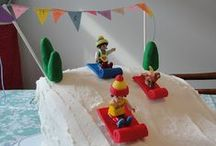 Sled Party Ideas / Winter birthdays can be a blast when you take them OUTSIDE and go sledding! / by Jen at KitchenCounterChronicle