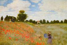 Visual Arts I - Claude Monet / Remarkable pieces of Western visual art, mainly from the 19th and the first half of the 20th century / by Chris den Hamer