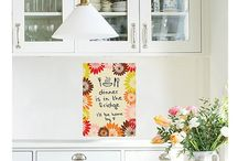 Dry Erase / Combine function AND fashion with our stylish Dry Erase Boards!