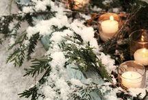 Winter Inspiration / Winter, snow, Christmas...