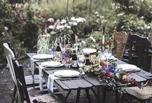 Table Decoration & Styling / Beautiful table settings.