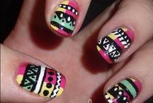 Nail art..