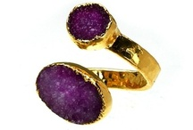 Roccabella / Stunning jewellery that consists of rock crystals or stones plated in sterling silver or 24ct gold. View the collection: http://www.johngreedjewellery.com/icat/roccabella/ / by John Greed Jewellery