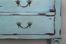 Chalk it Up! / Chalk paint, salvage chic, Swedish painted furniture, French provincial