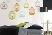 NEW for Back To School 2013 / The Best Dorm Decor Idea and Ways to Get Organized for a Busy School Year! / by WallPops Wall Decals