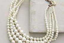 Pearls / Timeless and so versatile, pearls are always the perfect accessory.