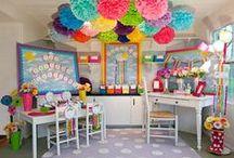Classroom Style & Decor / Trendy classroom decorating ideas and stylish WallPops for teachers!