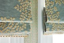 Be Inspired~ Roman Shades / Various roman shades / by Grauers Decorating Center Lancaster Pa