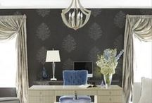 Wallpaper Inspiration / Ever thought of these ideas? / by Grauers Decorating Center Lancaster Pa