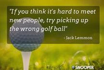Golf Humor & Wisdom / Grins and giggles about the wonderful game of golf