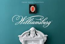 Benjamin Moore ~ Williamsburg Collection / by Grauers Decorating Center Lancaster Pa