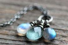 Gemstone Necklaces / Understated and elegant artisan gemstone necklaces.