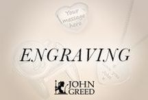E N G R A V I N G / Give the one you love a message that will last forever, with our engraving collection!  Shop personalised jewellery now >>> http://jgj.im/1XT8GGm