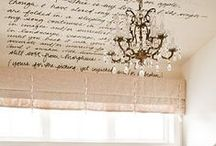Beautiful Ceiling Décor / Gorgeous Statements from Above!