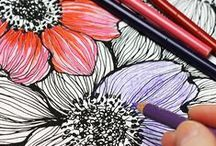 Adult Coloring Ideas / by WallPops