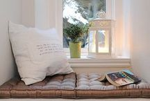 Cozy Reading Nooks / Sit back and relax with these cozy and stylish reading corners...