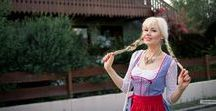 GERMANY Travel, BAVARIA, Trachten, Dirndl / Beautiful places in Germany, traditional German costumes Dirndl and Trachten, beautiful towns in Bavaria