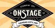 On Stage Kansas City Display Stampers / Cards, Scrapbook pages, and Projects from the Stampin' Up! On Stage: Kansas City Display boards. November 2016