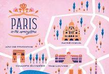 love | mapping the world / #maps #illustration #design #handlettering