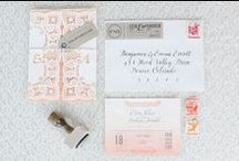 love | wedding details / #announcements #wedding #stationery #typography