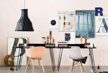 love | work space / Designing Workspace. #office #officesupplies #organization #work #stationery