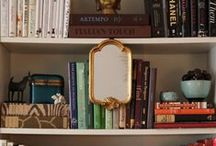 Bookshelf stylist / Some of my favorite ways to layer your shelves / by Recycled Design