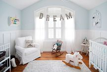kid spaces: nurseries & bedrooms  / by Lisa Vinacco