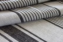 Fabrics & Rugs / by Remodelista