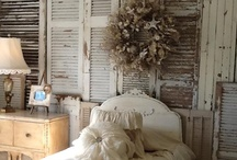 Shabby & French with a Splash of Vinatge Chic.... / Neutral beautiful calm  / by Brenda Mullett