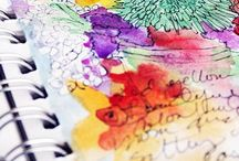 Artistic Inspiration! / Creativity : letting your artistic expression flow ✏️ / by Brenda Mullett