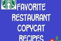 Recipes - Copycat & Restaurant Clones / Recipes - Copycat Recipes & Restaurant Clones / by Brenda Tollefson